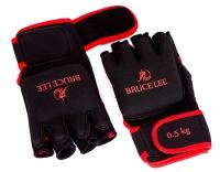 Перчатки с отягощением Bruce Lee 0.5kg Dragon