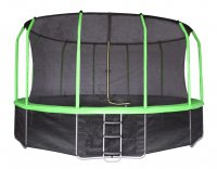 14 ft 4,27 м с сеткой и лестницей (зеленый) Yrt14FTGR