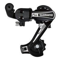 Переключатель задний  SHIMANO RD-TY21-B, GS 6 ск., на ось, чёрный  без упаковки