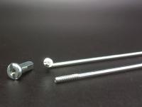 Велосипедные спицы  TBS с ниппелем сталь, 256MM поштучно
