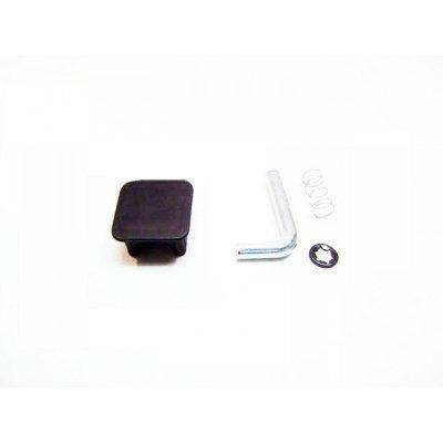 Заглушка и фиксатор фаркопа  BERG  для квадратной рамы