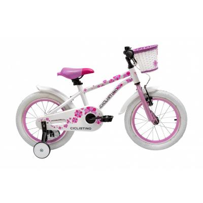 Велосипед Ciclistino Rider 16 pink (2019)