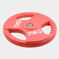 Олимпийский диск евро-классик с тройным хватом Oxygen 25 кг.