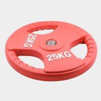 Олимпийский диск Oxygen евро-классик--с тройным хватом 25 кг.