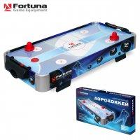 Настольный аэрохоккей Fortuna HR-31 blue ice hybrid настольный 86Х43Х15СМ