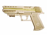 3D-конструктор UGEARS Пистолет Вольф-1