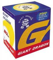 Мячи для настольного тенниса Giant Dragon 120 шт белые