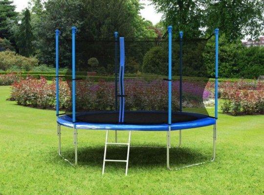 Батут с внешней сеткой и лестницей Hegen External 10 ft (305 см)