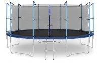 Батут с внутренней сеткой и лестницей Diamond Fitness INTERNAL 16FT (488 СМ)