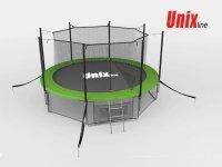 Батут Unix 14 ft (4,27 м) Inside (зеленый)