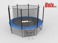 Батут Unix 8 ft (2,44 м) Inside (синий)
