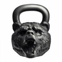 "Гиря с характером Heavy Metal ""Медведь"" 32 кг"