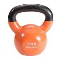 Гиря 11,3 кг (25lb) Body Solid обрезиненная оранжевая