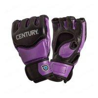 Перчатки тренировочные женские Century black/purple