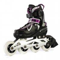 Роликовые коньки регулируемые Blackwheels Flex purple