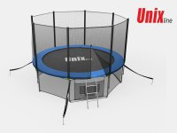 Батут Unix line 10 ft inside (blue)