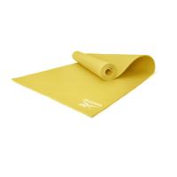 Тренировочный коврик (мат) для йоги Reebok желтый 4 мм