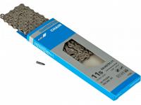 Цепь SHIMANO HG701, 11ск, 116 зв., амп.пин (1шт), ROAD/MTB/E-BIKE совмест.