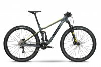 Велосипед BMC MTB Agonist 02 TWO grey/black/yellow Deore /XT (2018)