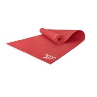 Тренировочный коврик (мат) для йоги Reebok красный 4 мм