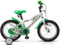 Велосипед Stels Pilot 180 ALU (2018) бело-зеленый