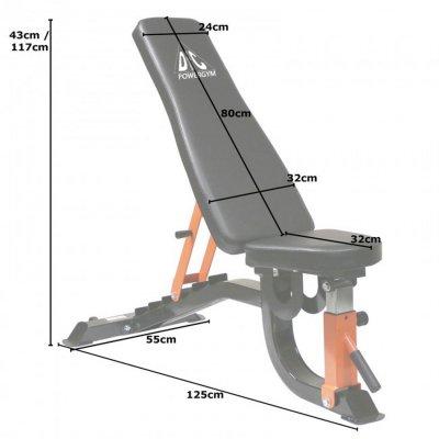 Силовая скамья универсальная DFC DBCH2-1