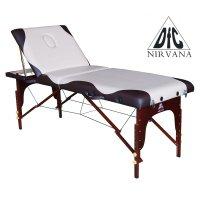 Массажный стол DFC NIRVANA Relax Pro белый/черный