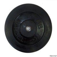 Lite weights Диск обрезин.Lite Weights черн.МВ d-26mm 15 кг