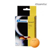 Мячики для настольного тенниса Donic PRESTIGE 2, 6 шт, оранжевый