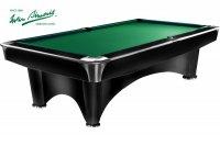 """Бильярдный стол для пула Weekend Billiard Company """"Dynamic III"""" 8 ф (черный с отливом)"""