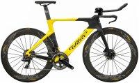 Велосипед Wilier Turbine Crono Ultegra Di2 Disc Cosmic Elite black/yellow (2019)