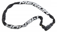 Замок противоугонный Merida 3 Digits Combination Chain Lock 90 см, 370 гр. Black/White