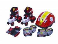Комплект для катания на роликах FERRARI детский