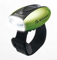 Фонарик Sigma MICRO белый, корпус зеленый