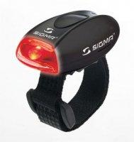 Фонарик Sigma MICRO красный, корпус черный