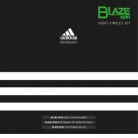 Накладка Adidas Blaze Spin 2.0мм (черный)