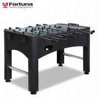 настольный стол футбол (кикер) Fortuna BLACK FORCE FDX-550 141Х75Х89СМ