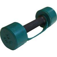 Гантель обрезиненная с обрезиненной ручкой Barbell 3 кг, цветная MB-FitC-3