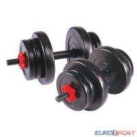 Гантель сборная Lite weights 2327LW  20 кг (10кг х 2шт)