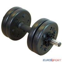 Гантель сборная Lite weights 3101CD 5 кг х 1шт