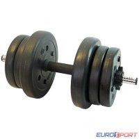 Гантель сборная Lite weights 3103CD 10 кг х 1шт