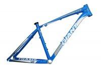 Алюминиевая рама для горного велосипеда Giant GIANT XTC FR (2012) (mtb bike frame) 26*16/18inch (голубой-белый)