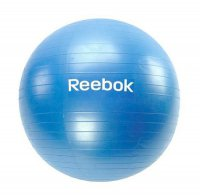 Гимнастический мяч Reebok 65 RAB-11016CY (голубой)