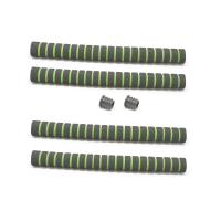 Грипсы  TBS HL-GR19 неопреновые D:20мм, длина 320мм (комплект 4 шт.+2 заглушки)