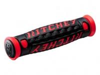 Грипсы RITCHEY MTN PRO TG6 чёрный/красный 125мм