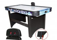 Игровой стол аэрохоккей DFC Blue Ice (синий), 5ф