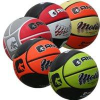 Баскетбольный мяч AND1 Motion black/orange