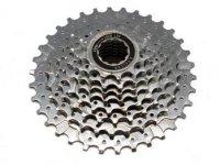 Кассета FALCON CS-854, 8 скоростей, дискретная, 12-34T, серебристая
