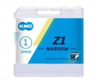 """Цепь  KMC Z1 NARROW, 1 ск., 1/2х3/32""""х112, коричневая, в торг.уп."""
