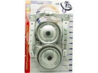 """Колеса приставные TBS SM-283-WASP, пластик, 5"""" для в-дов 16-24"""", максимальная нагрузка 40кг, цвет: серый металлик, в блистере."""